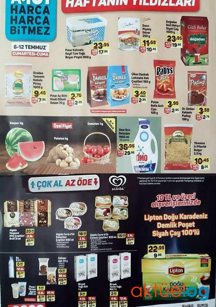 A101 6 Temmuz 2019 Aktüel Ürünler Kataloğu (Haftanın Yıldızları)