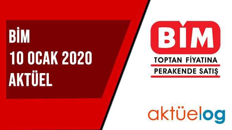 BİM 10 Ocak 2020 Aktüel Ürünler Kataloğu
