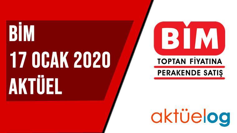 BİM 17 Ocak 2020 Aktüel Ürünler Kataloğu