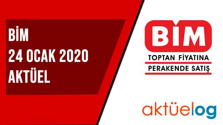 BİM 24 Ocak 2020 Aktüel Ürünler Kataloğu