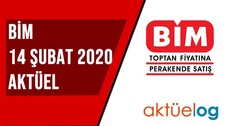 BİM 14 Şubat 2020 Aktüel Ürünler Kataloğu