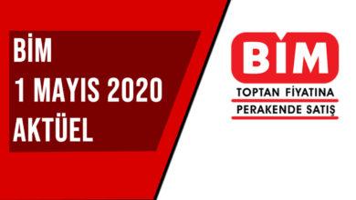 BİM 1 Mayıs 2020 Aktüel Ürünler Kataloğu