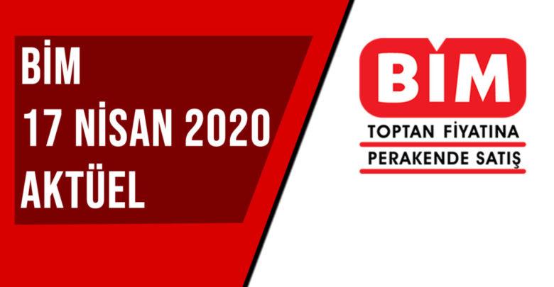 BİM 17 Nisan 2020 Aktüel Ürünler Kataloğu