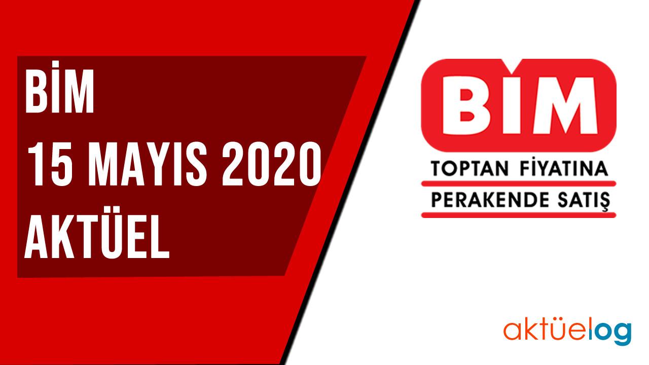 BİM 15 Mayıs 2020 Aktüel Ürünler Kataloğu