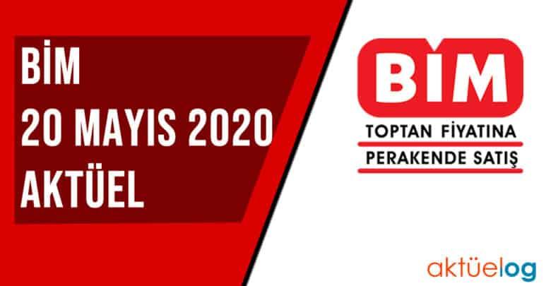 BİM 20 Mayıs 2020 Aktüel Ürünler Kataloğu