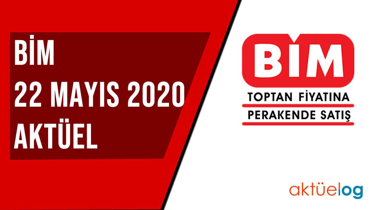 BİM 22 Mayıs 2020 Aktüel Ürünler Kataloğu