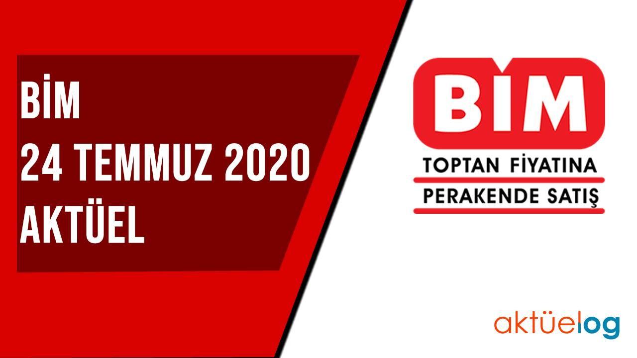BİM 24 Temmuz 2020 Aktüel Ürünler Kataloğu