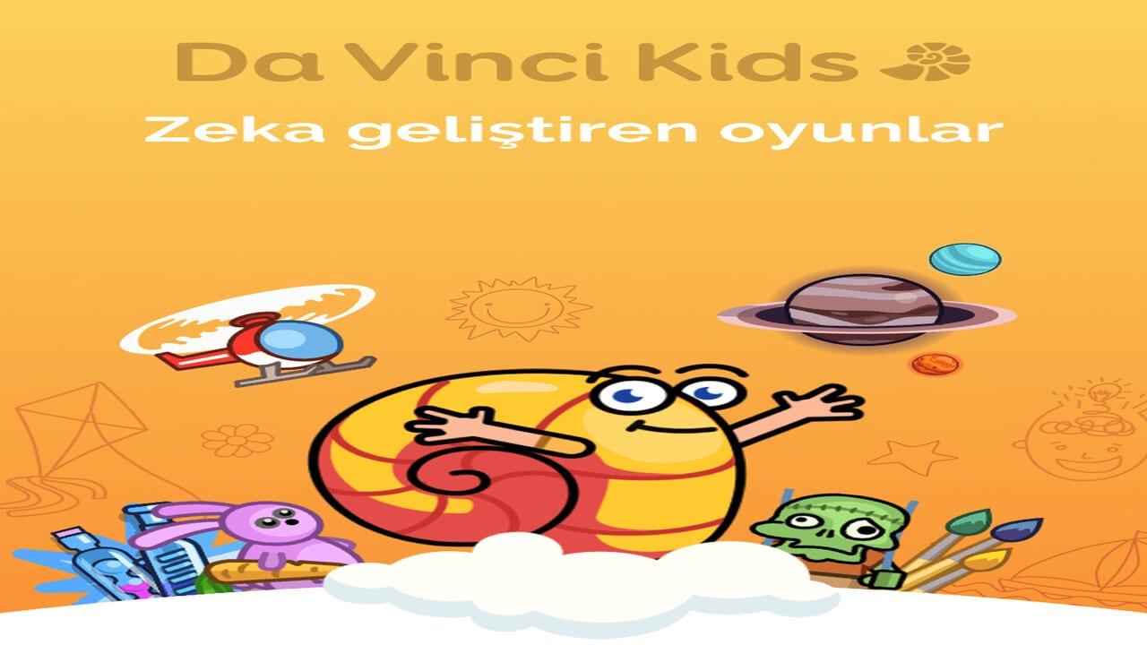 Da Vinci, Çocuklar İçin Geliştirdiği Yeni Eğlenceli Öğrenme Uygulamasını Yayınladı.