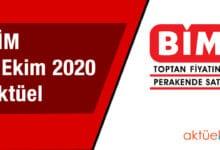 BİM 2 Ekim 2020 Aktüel Ürünler Kataloğu