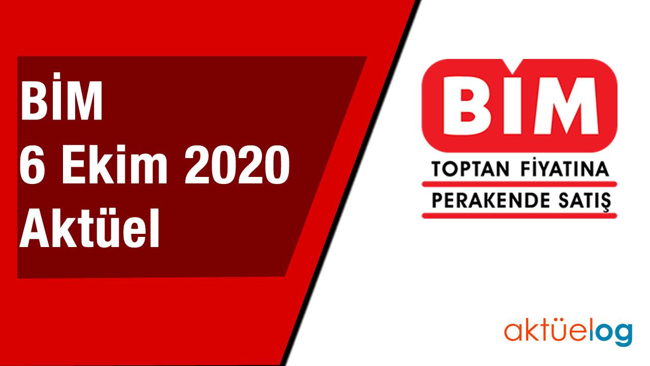 BİM 6 Ekim 2020 Aktüel Ürünler Kataloğu