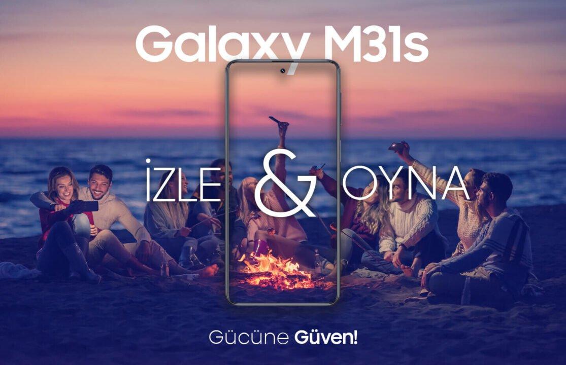 Galaxy M31s 200 TL değerinde Hediye Çeki fırsatıyla ön siparişte!