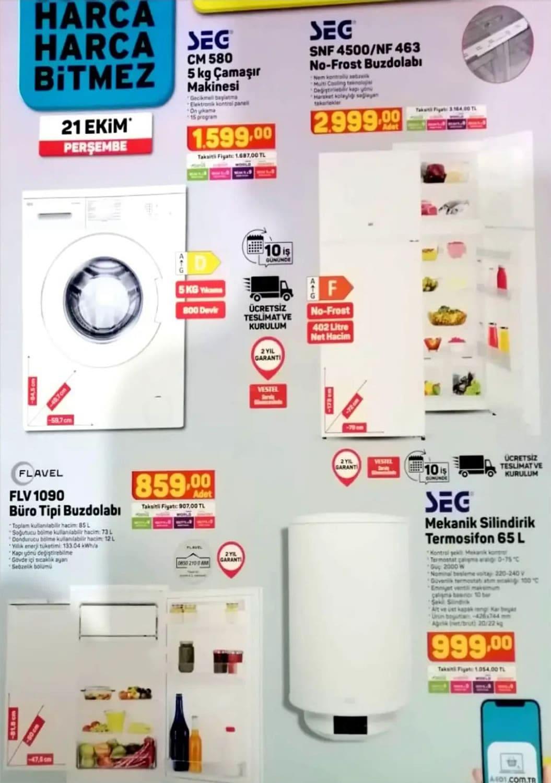 A101 21 Ekim 2021 Aktüel Ürünler Kataloğu